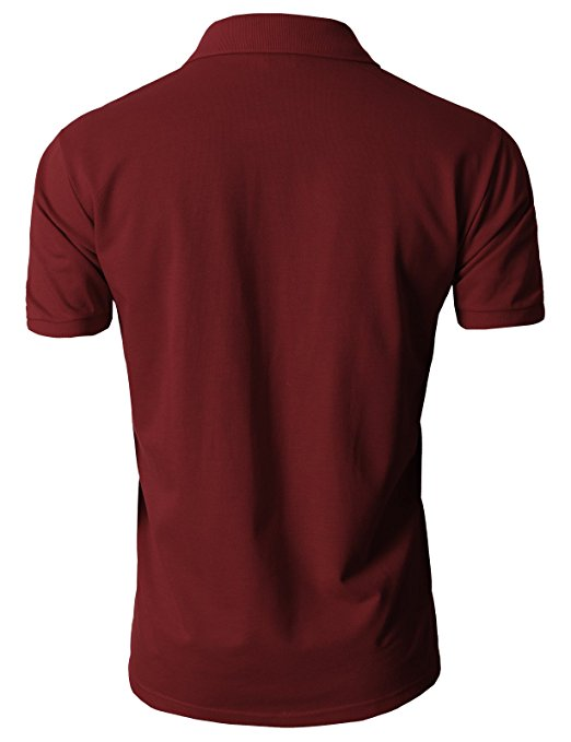 distributor basic short sleeve polo shirt