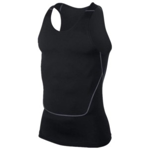 Compression tank top for men white label