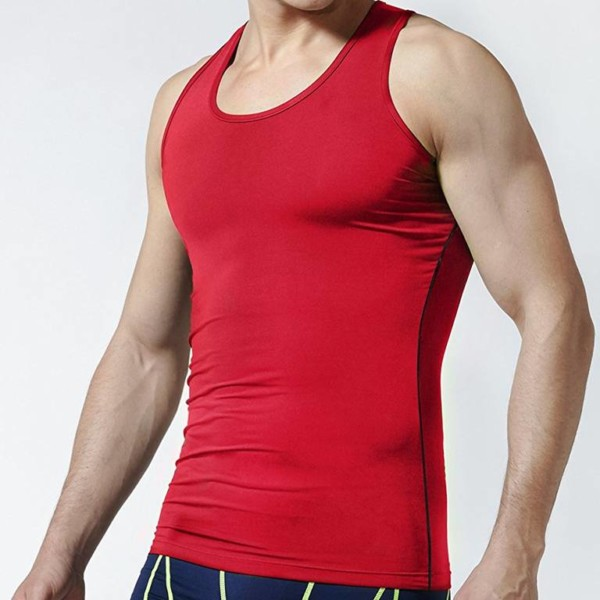wholesale Compression tank top for men