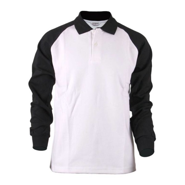 POLO SHIRT RAGLAN LONG SLEEVE distributors