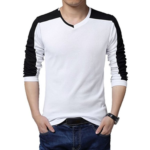 Wholesale v neck long sleeve t shirt manufacturer for T shirt suppliers wholesale