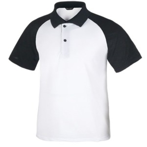 wholesale raglan sort seeve polo shirt