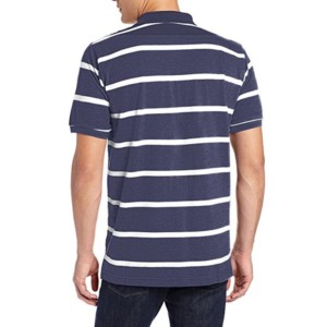 Striped short sleeve polo shirt manufacturers