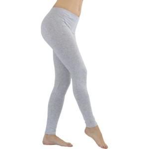 Cotton Grey Leggings white label