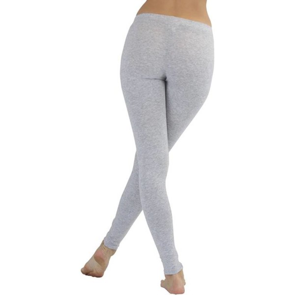 Cotton Grey Leggings private label