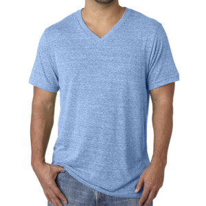 Cotton V Neck T-Shirt wholesale (2)