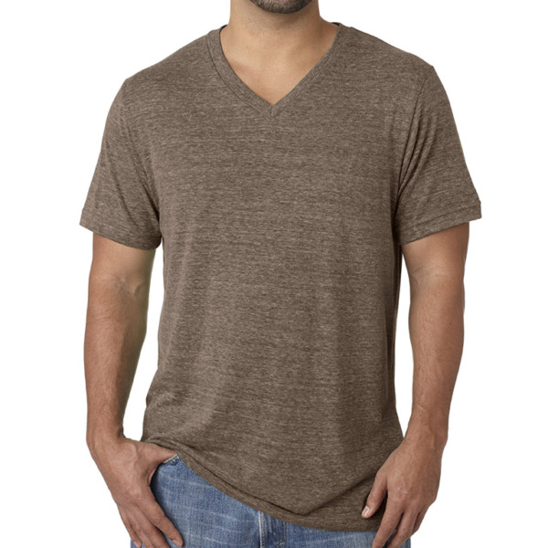 Cotton V Neck T-Shirt wholesale (3)
