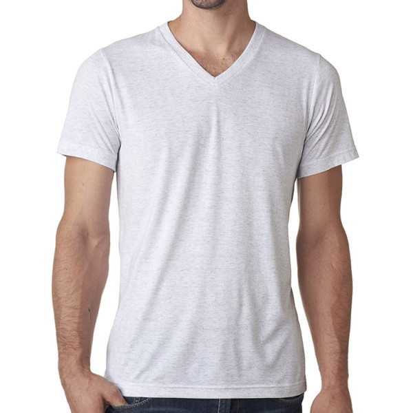 Cotton V Neck T-Shirt wholesale (4)