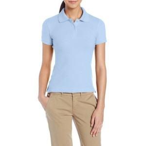 Light Blue Uniform Poli Shirts manufacturers