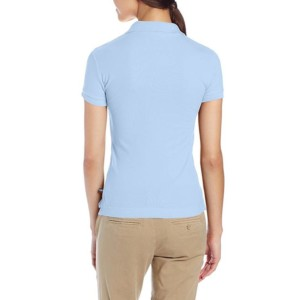 Light Blue Uniform Poli Shirts suppliers