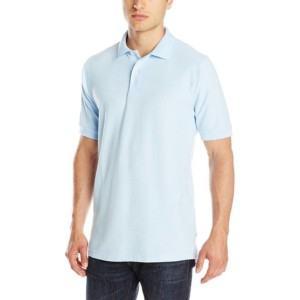 Light Blue Uniform Poli Shirts private label