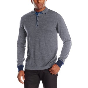 Long Sleeve Wool Polo Shirts Private Label