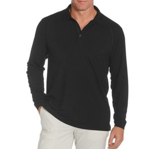 Long Sleeve Wool Polo Shirts Wholesale