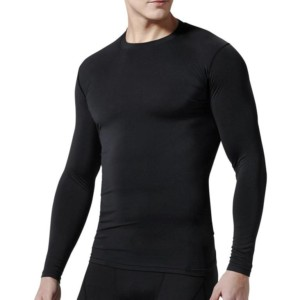 wholesale Men's long sleeve compression shirts