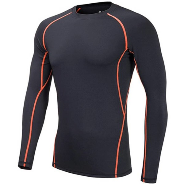 Mens long sleeve compression shirts distributors