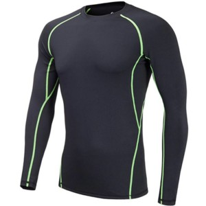 private label Mens long sleeve compression shirts