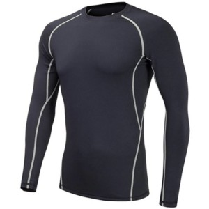 white label Mens long sleeve compression shirts