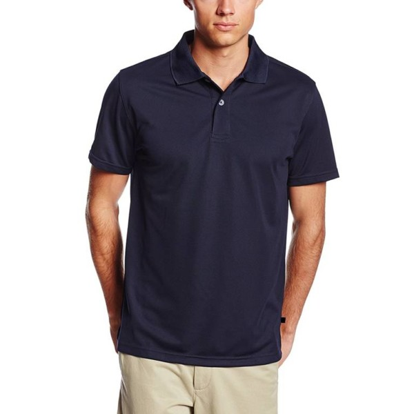 Navy Blue Polo Uniform Shirts wholesale