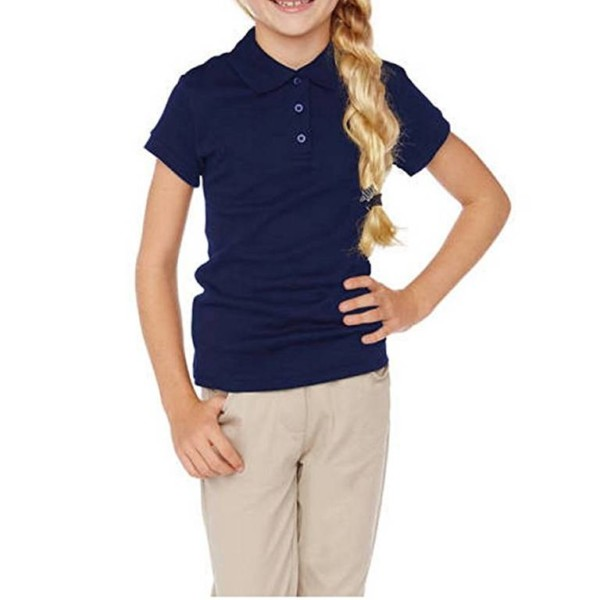 Navy Blue School Uniform Shirts private label