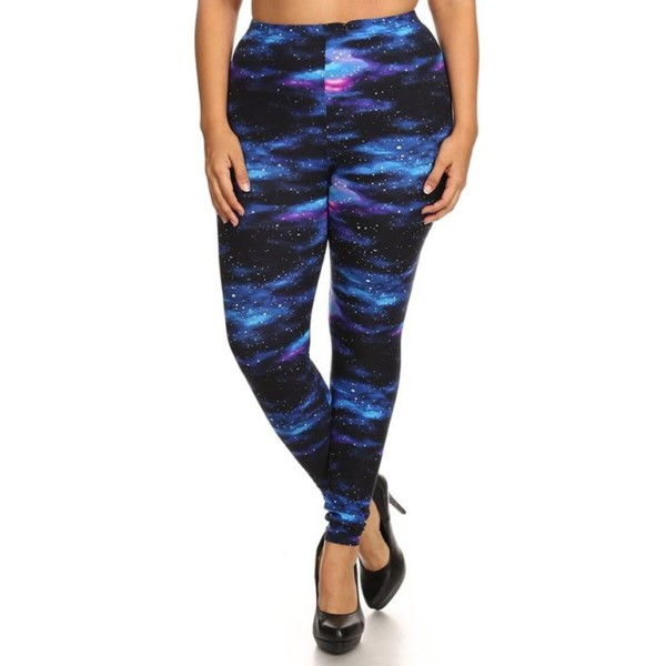 Wholesale Galaxy Leggings Plus Size Manufacturer ...
