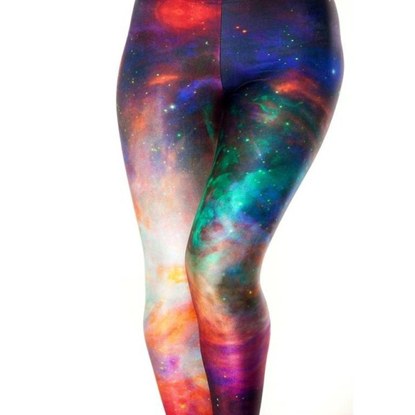 Plus Size Galaxy Leggings private label