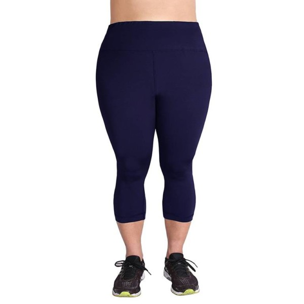 Plus Size Gym Leggings white label