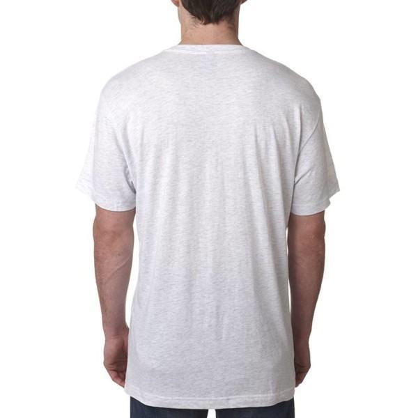 Polyester Cotton Blend T-Shirt white label