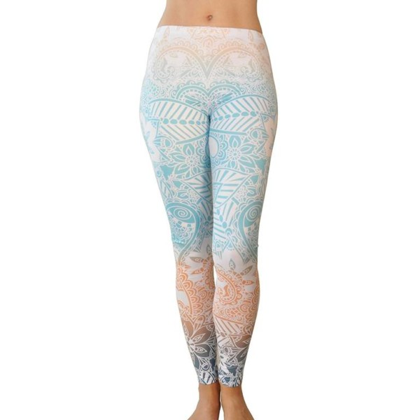 distributors printed yoga leggings