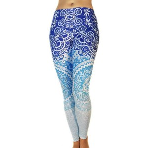 wholesale printed yoga leggings