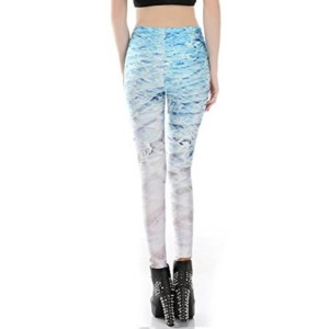 Sea Printed Leggings private label