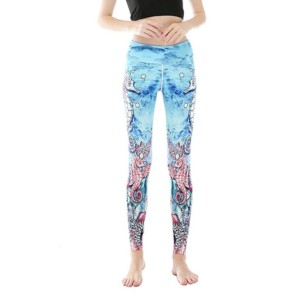 Sea Printed Leggings white label