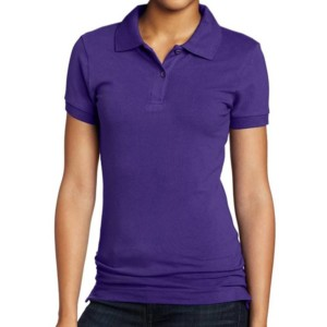 Short Sleeve Polo Girls Uniform private label