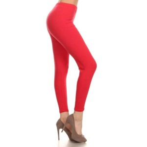 Red Cotton Leggings wholesale