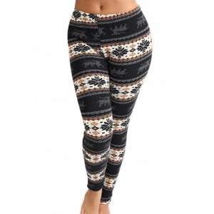 Thick Printed Leggings wholesale