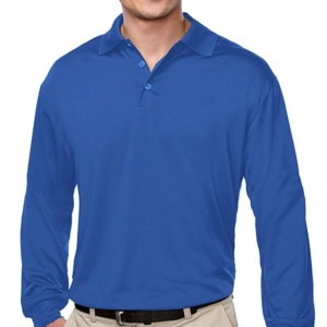 Uniform Long Sleeve Polo Shirts wholesale