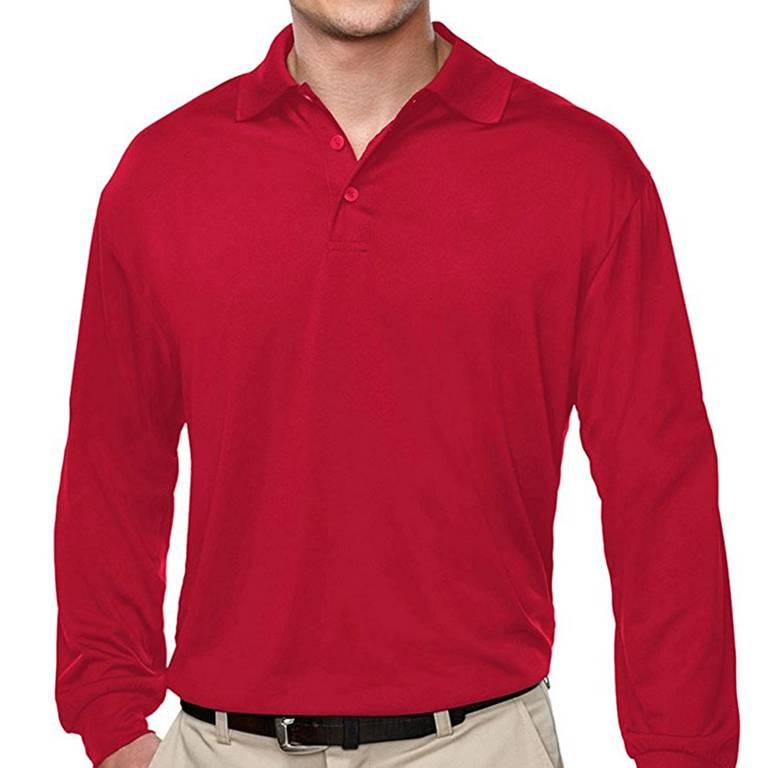Wholesale Uniform Long Sleeve Polo Shirts Manufacturer In