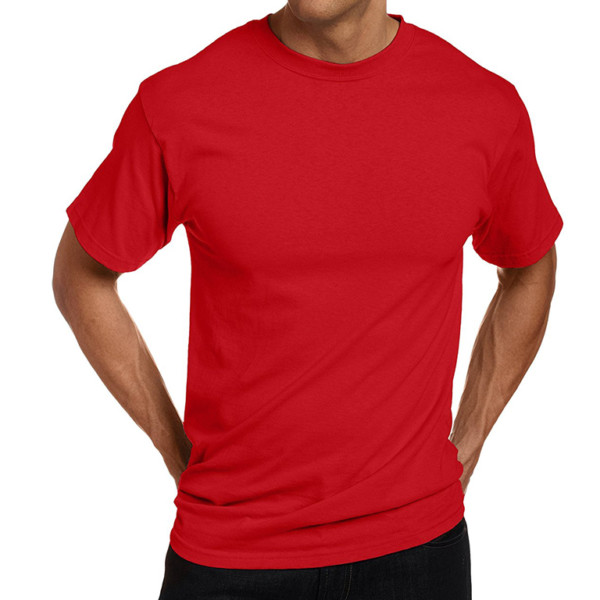 Wholesale Custom Plain Cotton T-Shirt (8)