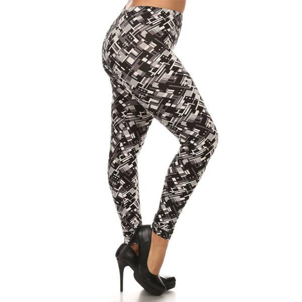 Wholesale Plus Size High Waist Leggings (4)