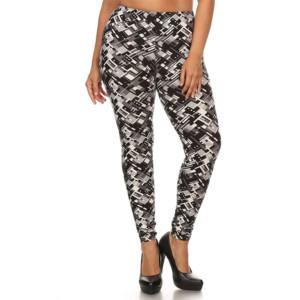 Wholesale Plus Size High Waist Leggings (5)
