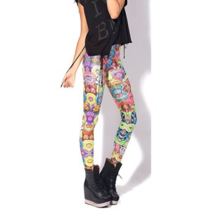 Cute Printed Leggings Distributor
