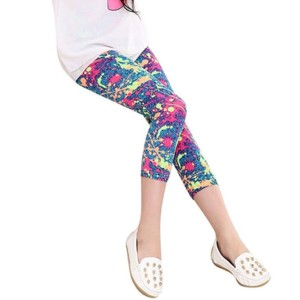 Kids Printed Legging Supplier