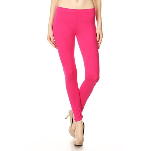 Pink Cotton Leggings Manufacturer