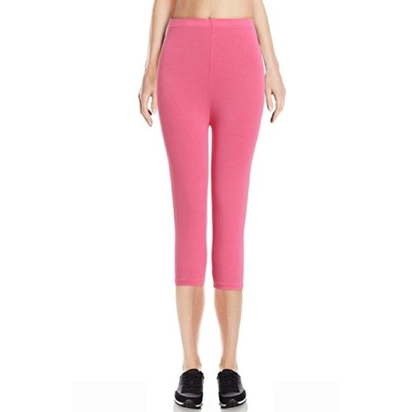 Pink Cotton Leggings Wholesaler