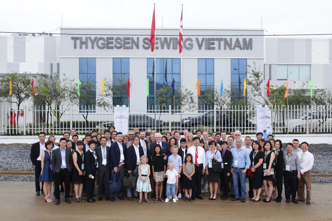 Thygesen Textile Vietnam Factory