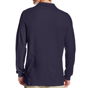 casual long sleeve polo shirt manufacturer & wholesale supplier- thygesen (2)