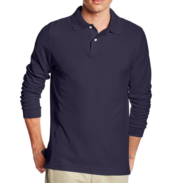 casual long sleeve polo shirt manufacturer & wholesale supplier- thygesen (4)