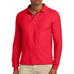 casual long sleeve polo shirt manufacturer & wholesale supplier- thygesen (5)