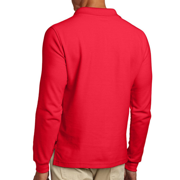 casual long sleeve polo shirt manufacturer & wholesale supplier- thygesen (6)