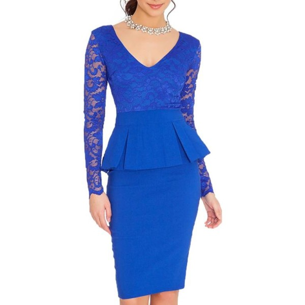Peplum Dress Manufacturer-Supplier Thygesen Textile Vietnam