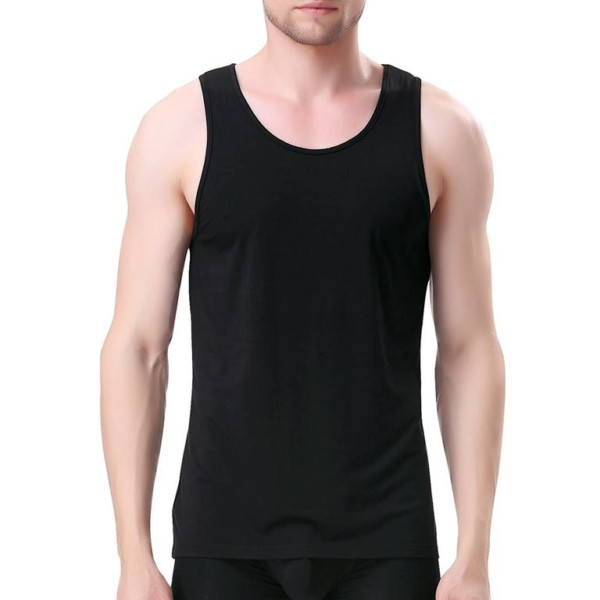 Men Crew Neck Tank Top Manufacturer-Supplier Thygesen Textile Vietnam